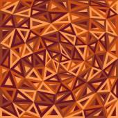 Soyut üçgenler turuncu arka plan — Stok Vektör