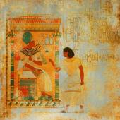 Grunge antique Egypt background — Stock Photo
