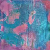 Alten ägypten fantasy hintergrund — Stockfoto