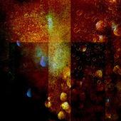 Inferno, grunge dark background  — Stock Photo