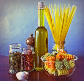 Mediterranean flavours — Stock Photo