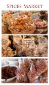 Gourmet spices market — Foto Stock