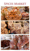 Gourmet spices market — Photo