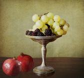 Vintage autumnal fruits — Stock Photo