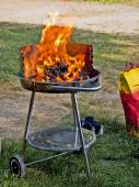 Barbecue gril outdoor — Stock Photo