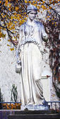 Goddess statue, mythological marble sculpture — Stock Photo