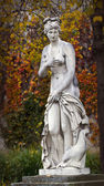 Mythological classical statue in public park — Stock Photo