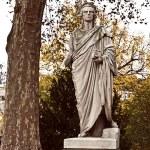 Stuttgart Germany - Schiller statue  — Stock Photo #64829505
