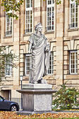 Stuttgart Germany - Schiller monument — Stock Photo