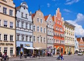 Landshut, Germany  cityscape — Stock Photo