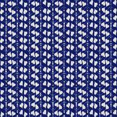 Patrón transparente azul de la Doodle. — Vector de stock