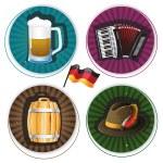 Oktoberfest Labels — Stock Vector #55144679