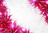 Kwiaty przezroczyste tło — Wektor stockowy