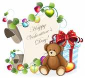Valentines Day invitation — Stock Vector