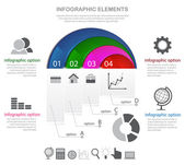 Infographic elements and icons — Stockvector