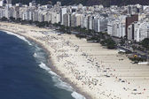 People on the Beach in Rio de Janeiro — Stock Photo
