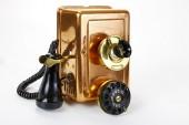 Brown Phone vintage — Stock Photo