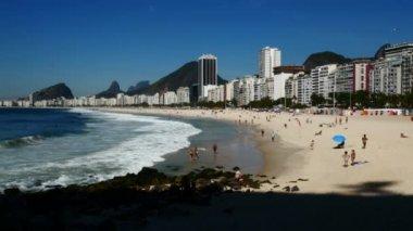 Famous tourist spot in Brazil — Stock Video