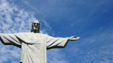 Jesus Christ, located in the Santa Teresa — Stock Video