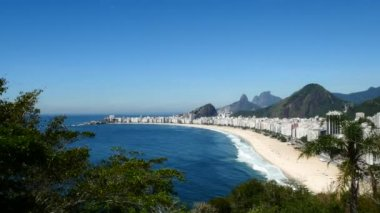 Copacabana Beach, Rio de Janeiro — Stock Video