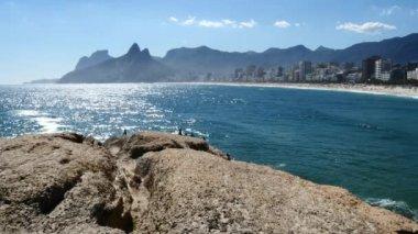 Ipanema Beach, Rio de Janeiro — ストックビデオ