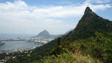 Amazing landscape in Rio de Janeiro — Stock Video