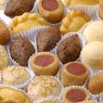 Diversity pastry food — Stock Photo #69570657