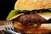 American style tasty burger — Stock Photo