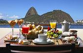 Breakfast in Rio de Janeiro — Stock Photo