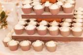 Styled wedding cookies — Stock Photo