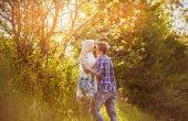 Teens couple — Stock Photo
