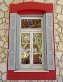 Vintage home window — Stock Photo