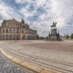 Dresden Germany, Opera house — Stock Photo #65142973