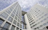 International Criminal Court in The Hague — Stockfoto