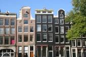 Amsterdam Canal Houses — Stock Photo