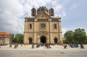 Speyer Cathedral, Germany — Stockfoto