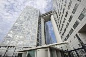 International Criminal Court in The Hague — Stock Photo