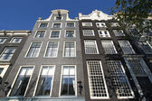 Amsterdam Mansions — Stock Photo