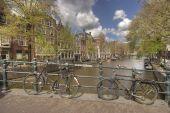 Amsterdam Sleutelbrug — Stock Photo