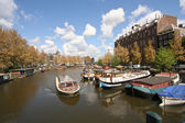 Touring Amsterdam — Stock Photo