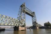 Koningshaven Railway Bridge Rotterdam — Foto de Stock