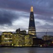 The Shard in London at dusk — Stock Photo #62229795