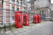 London Telephone Booths — Stock Photo