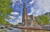 Westerkerk in Amsterdam — Stock Photo
