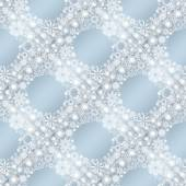Collection of snowflakes — Foto Stock