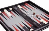 Games backgammon — Stock Photo
