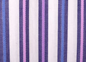 Striped shirt fabric background texture — Stock Photo