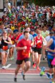 Thousands Of Runners Participate In Atlanta Peachtree Road Race — Foto Stock
