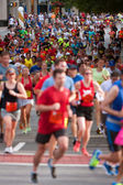 Thousands Of Runners Participate In Atlanta Peachtree Road Race — Foto de Stock