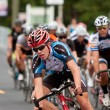 Group Of Cyclists Race In Georgia Criterium Event — Stock Photo #54754259